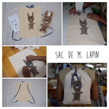 Instagram - Ça y est ! Monsieur Lapin a enfin son sac! #zazabracadabra #cadeauxuniques #dessins #peluche