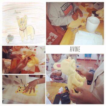Instagram - Création d'Avine! _#ZAZAbracadabra #creation #dessin #doudou #enfants