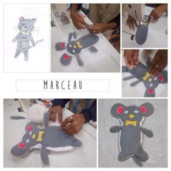 Instagram - Et voici Marceau! _#zazabracadabra #enfants #doudou #dessins #creationsuniques