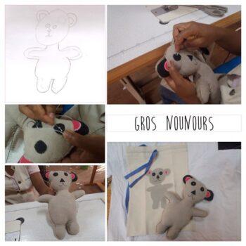 Instagram - Gros Nounours prêt à consoler les chagrins! _#creationsuniques #zazabracadabra #dessins #doudou #enfants