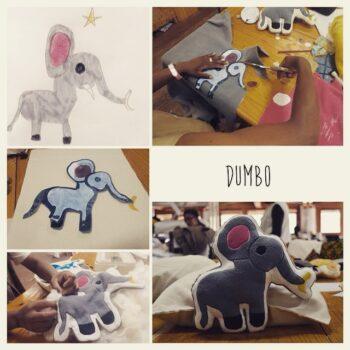Instagram - Nous vous présentons Dumbo! _#zazabracadabra #dessinsdenfants #doudou #creation