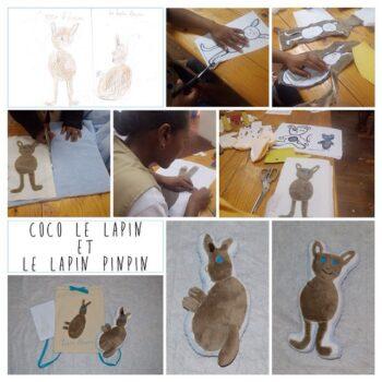 Instagram - Nous vous présentons deux compères _ Coco le lapin et le lapin pinpin! #zazabracadabra #dessinsdenfants #creations