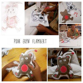 Instagram - Un doudou pour Eryn ! _#zazabracadabra #creationsuniques #dessins #doudou #enfants