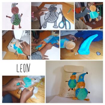 Instagram - Un doudou pour Léon_#dessin #enfants #doudou #creation #zazabracadabra