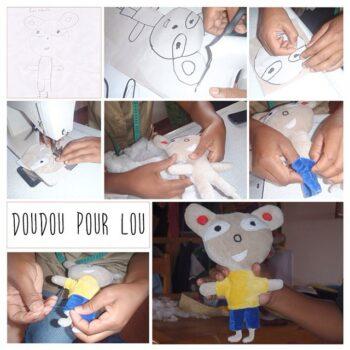 Instagram - Un doudou pour Lou _#zazabracadabra #creation #doudou #enfants #dessin