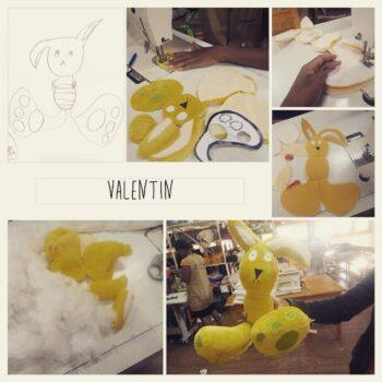 Instagram - Valentin le lapin _#ZAZAbracadabra #enfants #doudou #dessin #creation